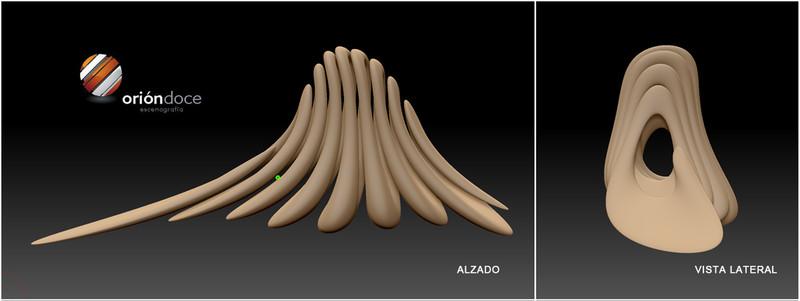 ORION12, orion12, oriondoce,ORIONDOCE, Enrique Fernández, escultura 3D, Zbrush, modelado 3D