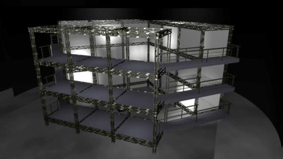 Escenografía Progresiva, escenografía experimental, escenografía cubica,