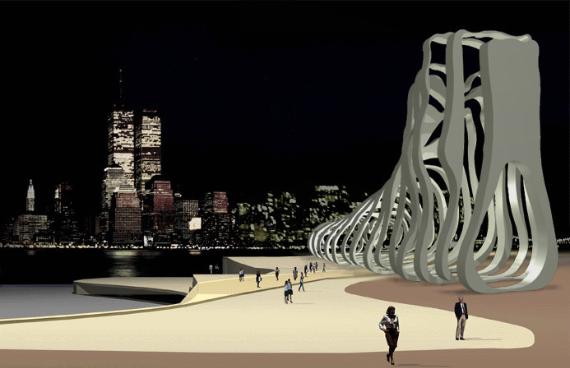 Proyecto de escultura en New Jersey