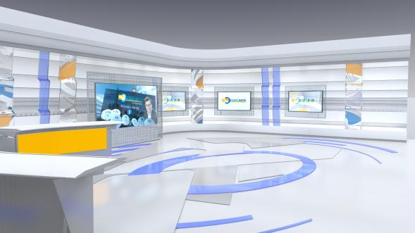Los desayunos RTVE 3D render